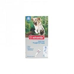 Bayer advantix grand chien 25 à 40 kg 6 pipettes