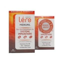 Léro Prémunil Système Immunitaire 90 Capsules + 30 Offertes