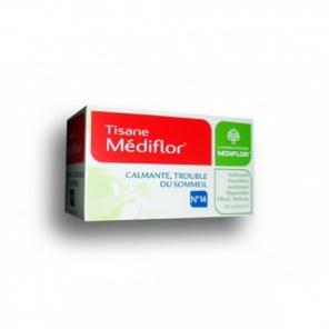 Mediflor tisane trouble du sommeil 24 sachets