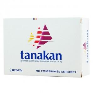 Tanakan 40mg 90 Comprimés Enrobés