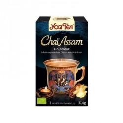 Yogi Tea thé chaï assam 17 sachets