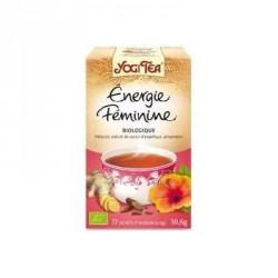Yogi tea énergie féminine bio 17 sachets