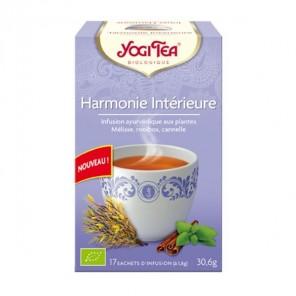 Yogi tea infusion harmonie intérieure 17 sachets