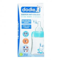Dodie biberon initiation 150ml débit 1